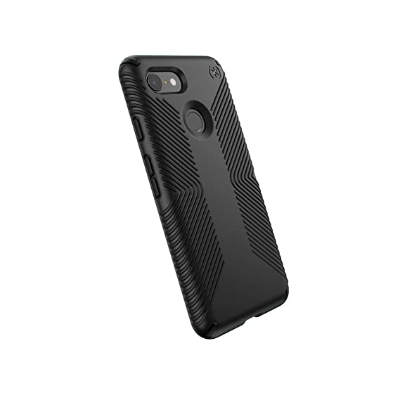 best sneakers 7e7a5 0f286 Speck Products Compatible Phone Case for Google Pixel 3, Presidio Grip  Case, Black/Black