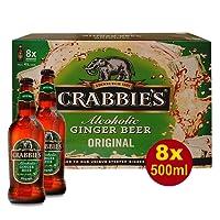 Crabbies Ginger Beer (8x500ml Flasche)