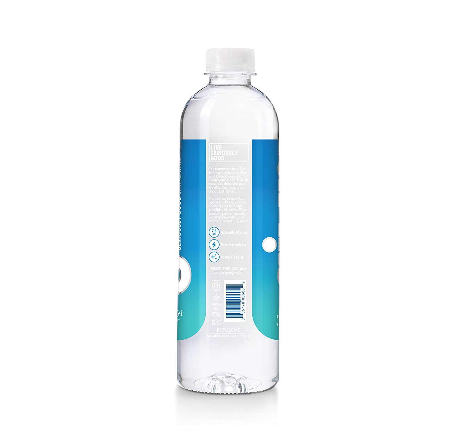 7b0539361f Amazon.com : GIVN Water - Seriously Good! : Grocery & Gourmet Food