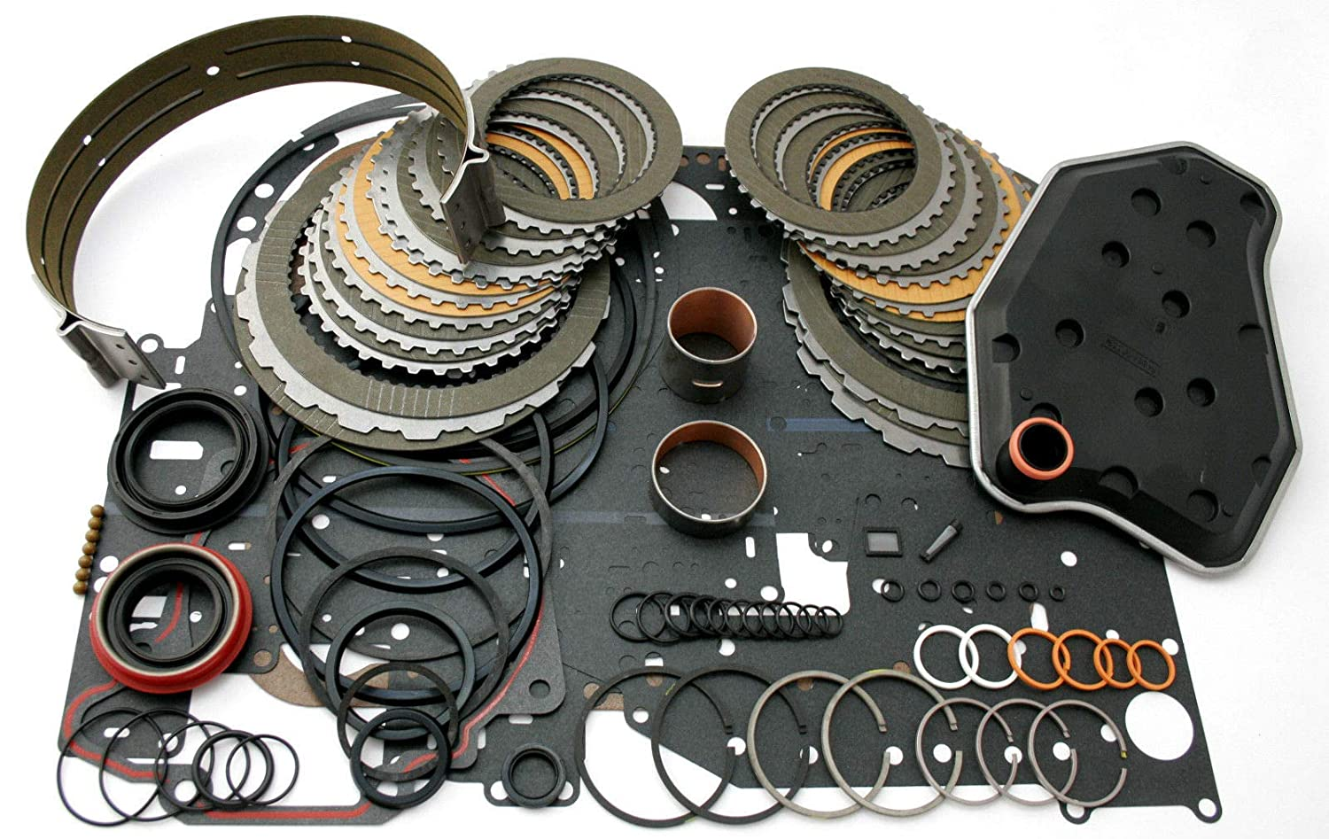 Ford 4R70W Overhaul Transmission Master Level 2 Rebuild Kit 1998-2003 Alto Products