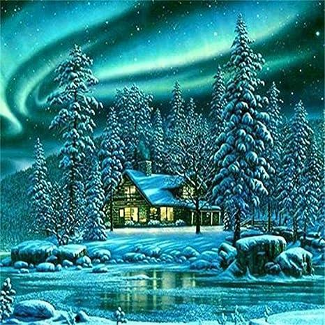 Christmas Window Bird 30x40cm DIY Rhinestone Embroidery Full Drill Cross Stitch Arts Craft for Home Wall Decor Kissme8 5D Full Diamond Painting Kit