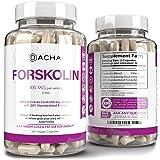 Natural Forskolin Max Strength Formula- 500mg Coleus Extract, Keto Diet Pills That Work Fast for Women & Men, Maximum Slim Lo