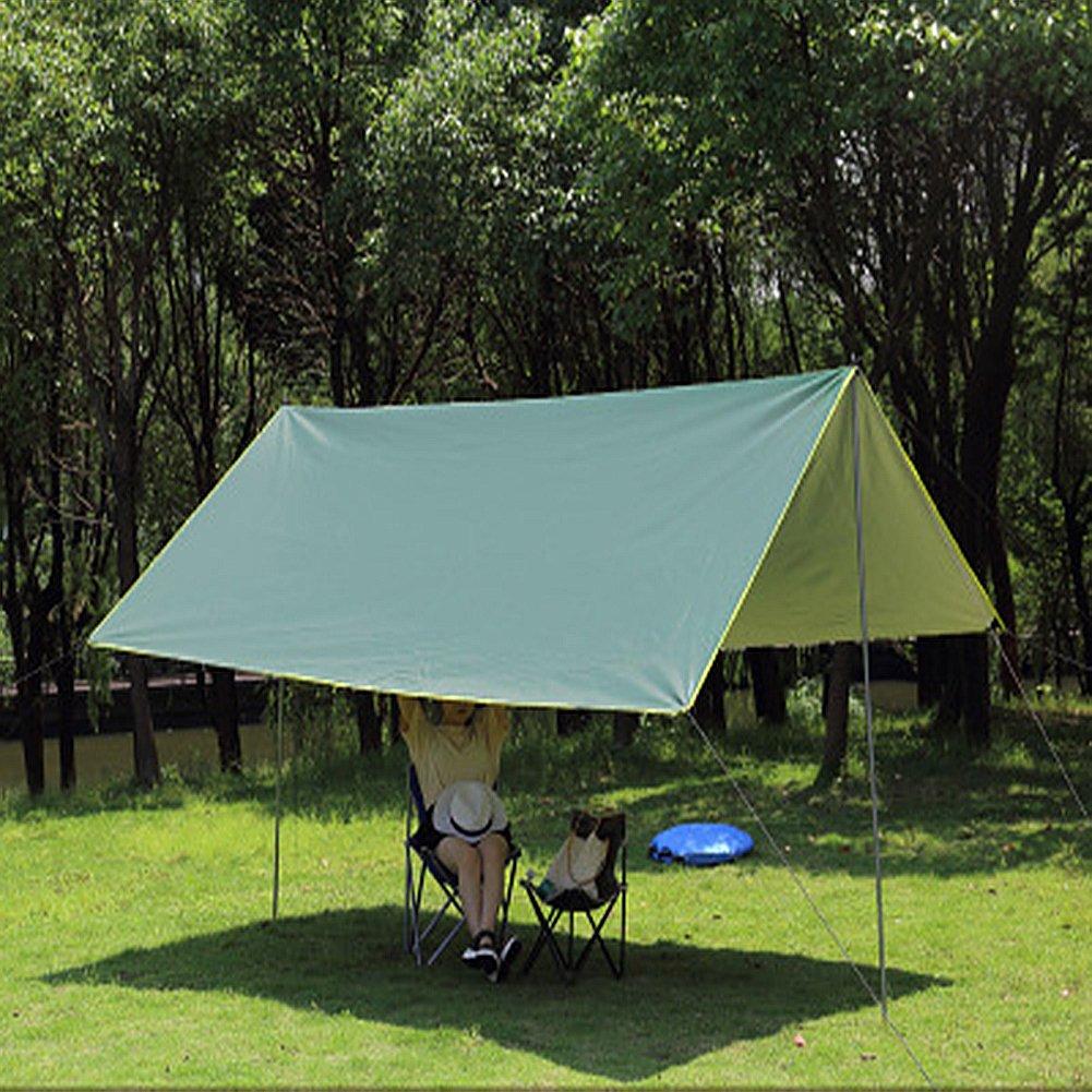 WUPO Plane 3.5  3.5M, Hängematte Regenfliege Zelt, Sonnenschutz, Wasserdicht und Winddicht Schnee, Geeignet Für Outdoor-Camping-Haus Strand Feld Park