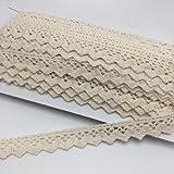 ELLAMAMA Cotton Lace Trim DIY Craft Delicate Ribbon