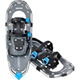 """RESVIN Snow Shoes, Lightweight Aluminum Snowshoes for Men and Women, Adjustable Bindings Snowshoes with Carry Bag, 21""""/25""""/30"""