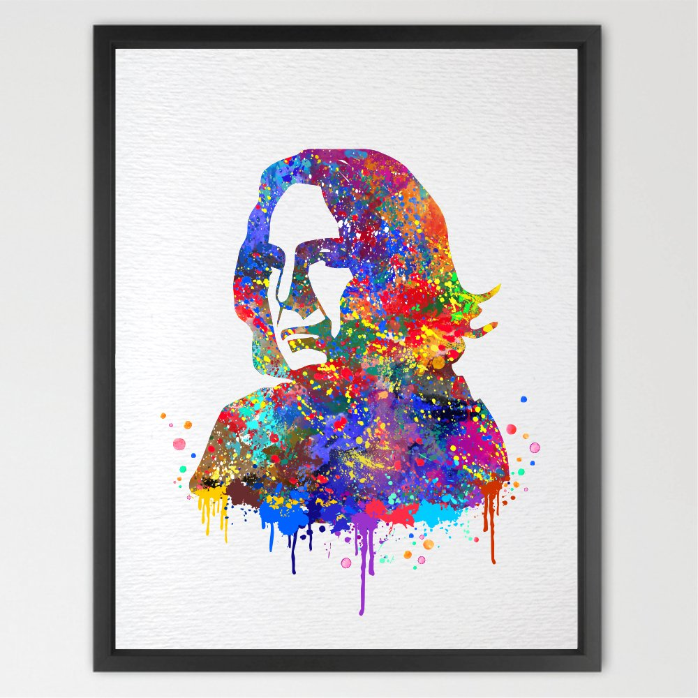 Dignovel Studios 13X19 Severus Snape Harry Potter Inspired Watercolor illustration Art Print Wall Art Poster Home Decor N045