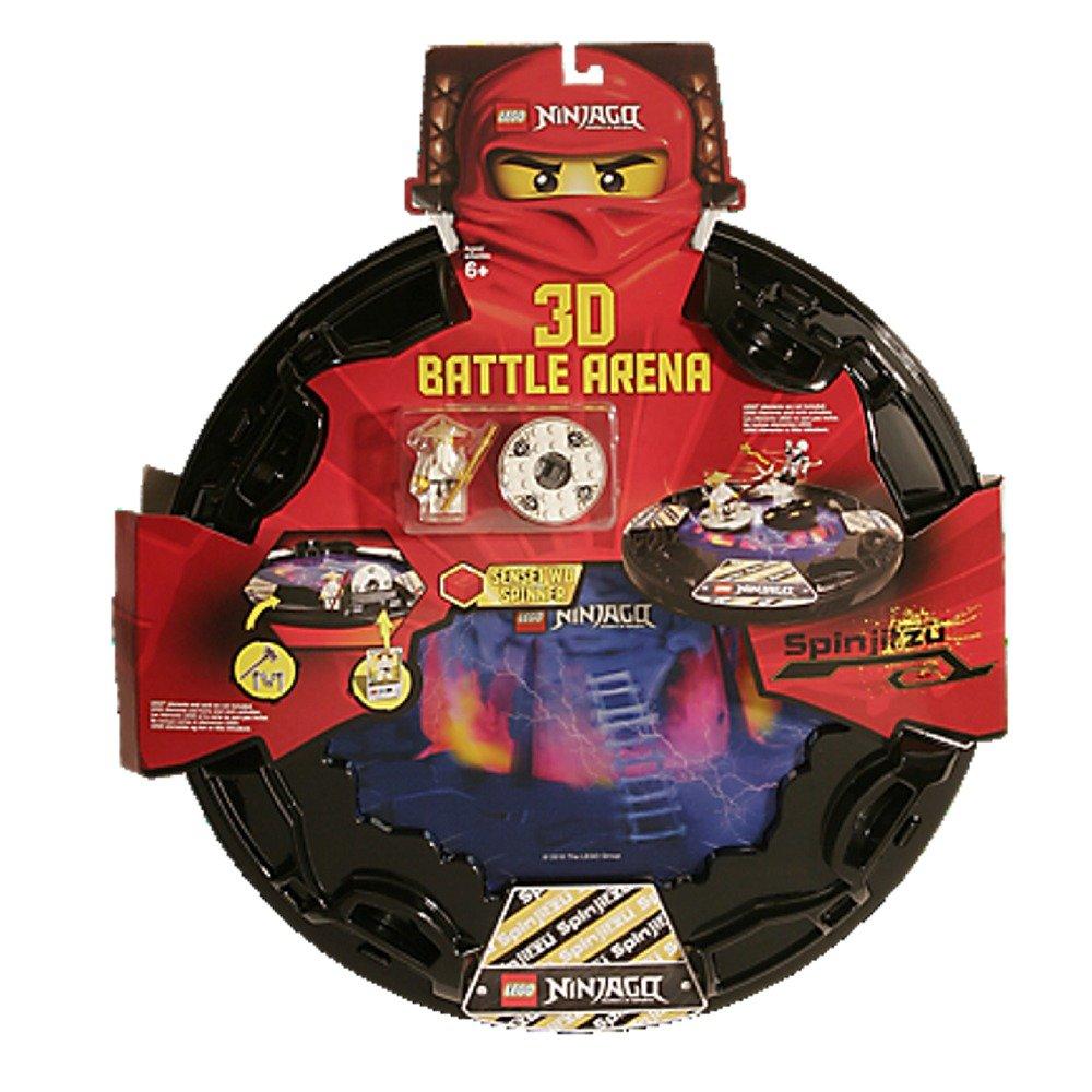 amazoncom lego ninjago spinjitzu 3d battle arena 853106 toys games - Ninjago Spinjitzu