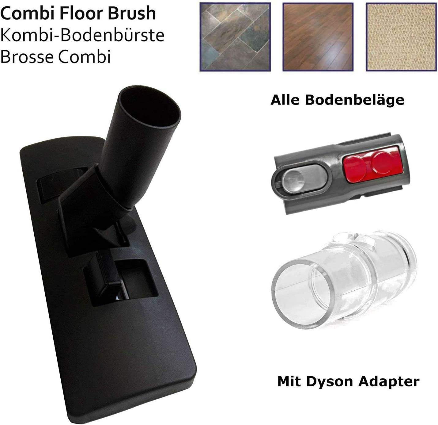 Maxorado - Boquilla para aspiradora compatible con Dyson V8 V7 V10 ...