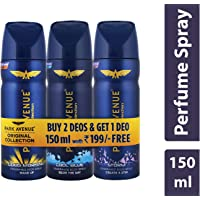 Park Avenue Classic Deo Set For Men (Combo Of 3)