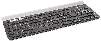 Logitech K780 - Teclado multidispositivo inalámbrico (para Windows, Mac, Chrome OS, iOS