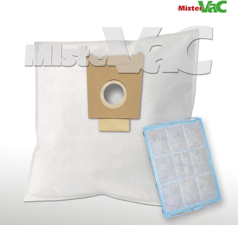 10 x Bolsas para aspiradoras filtro + para Bosch BSD 3300/06 ...