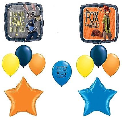 Zootopia Birthday Party Balloon Decoration Set