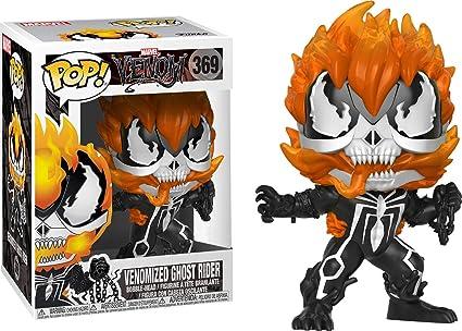 Amazon Com Funko Pop Movies Venom Venomized Ghost Rider