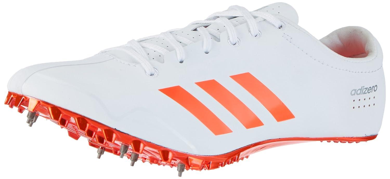 Adidas Adizero Prime Sprint, Zapatillas de Atletismo Unisex Adulto 44 EU|Blanco (Ftwr White/Solar Red/Silver Metallic)