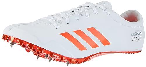 newest collection dc59b 6b4da adidas Adizero Prime Sprint, Scarpe da Atletica Leggera Unisex – Adulto,  Bianco (Ftwr