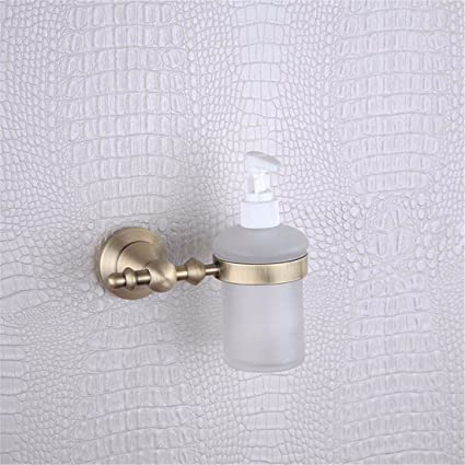 Navidad Estilo europeo cobre plena imitación cobre antiguo base redonda, accesorios de baño, toalla