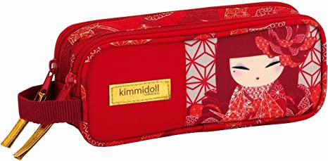 Kimmidoll- Estuche portatodo Doble, Color (SAFTA 861731513): Amazon.es: Juguetes y juegos