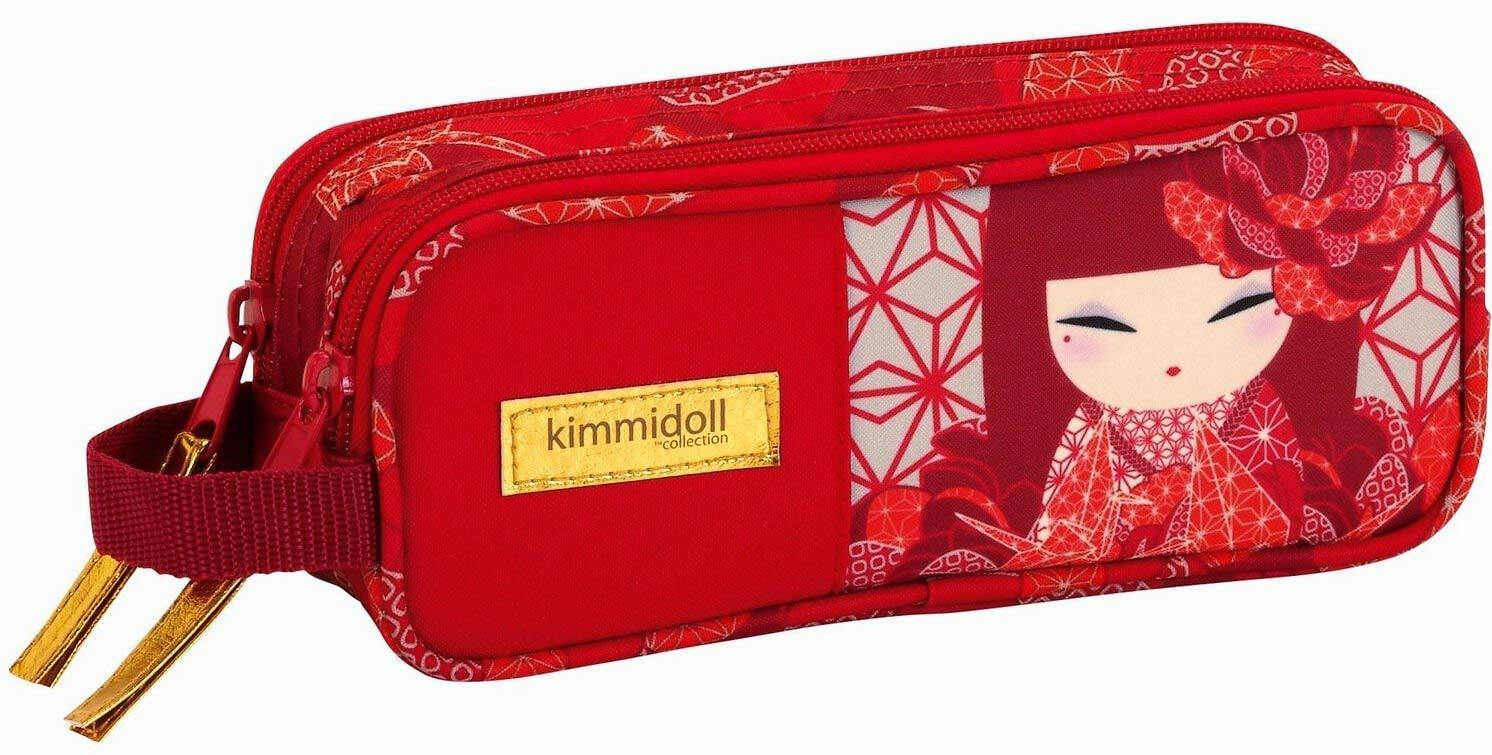 Kimmidoll Estuche portatodo Doble, 21 cm SAFTA 861731513