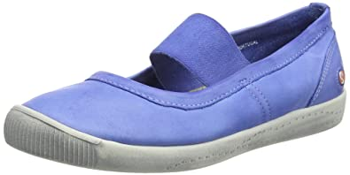 Ilma Washed, Ballerines Bout Fermé Femme, Violett (Lilac), 43 EUSoftinos