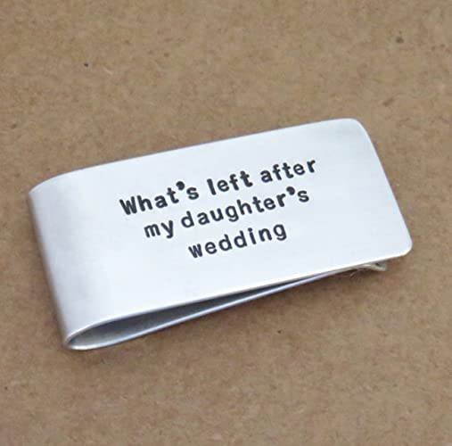 Amazon Lightweight Aluminum Fathers Day Gift Money Clip Father