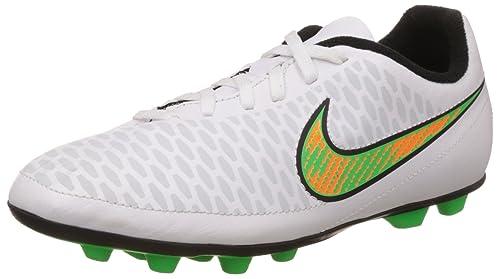Nike Magista Ola FgR Boys Football Training Shoes White White