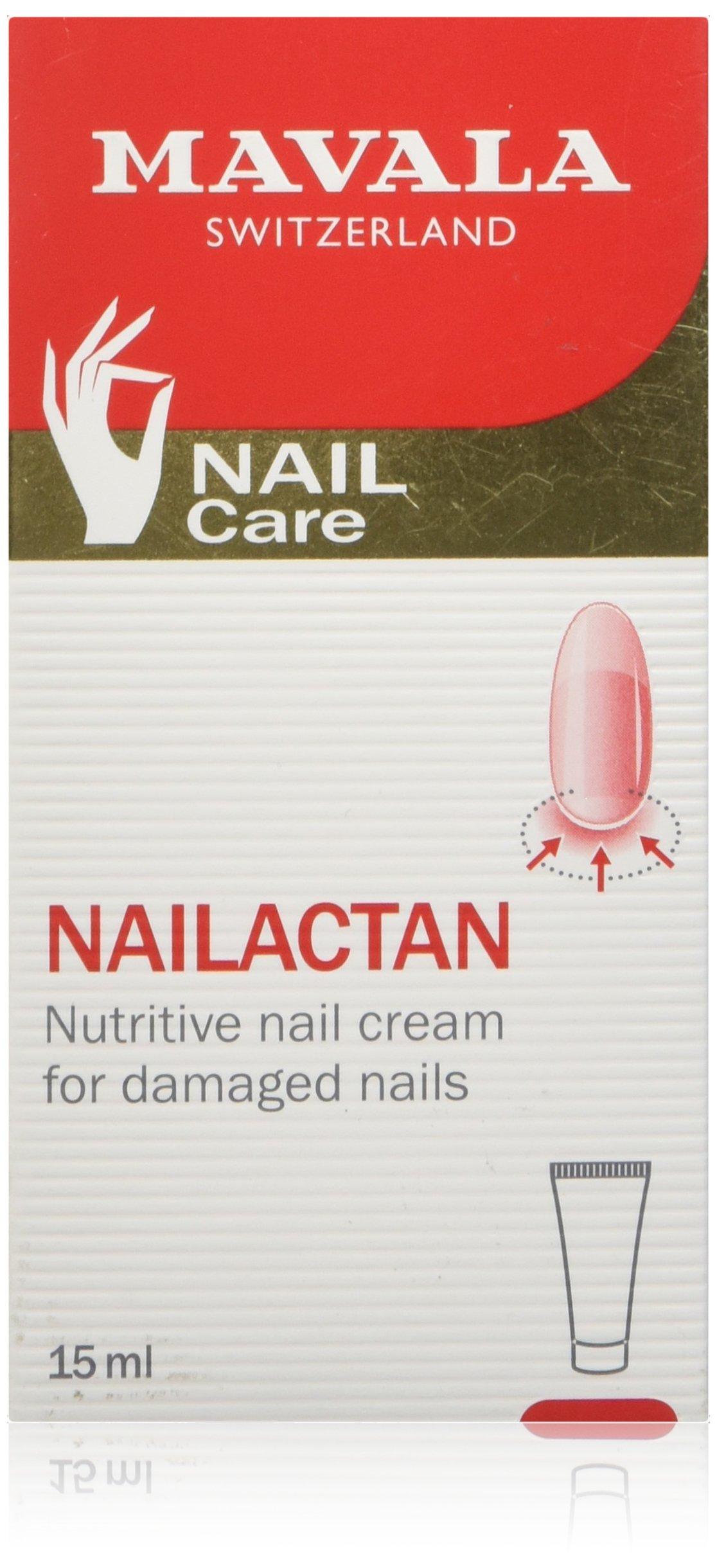 Mavala Nutritive Nail Cream Nailactan for Damaged Nails, 15 ml