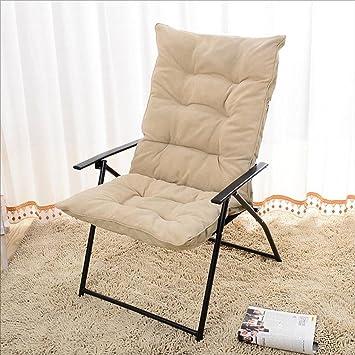 Chaises Longues Chaise Paresseuse Pliante Balcon Chambre Loisirs Longue Confortable Et Durable Coton Lavable