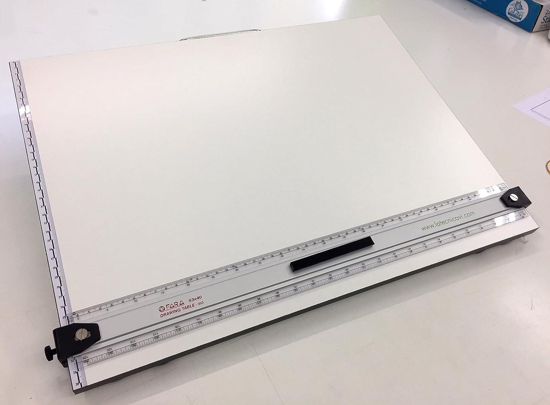 Tavoletta Parallelografo mod.England Riga 50cm in Alluminio - 53x48 FARA design