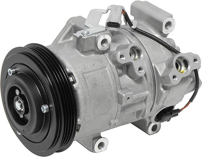 RYC Remanufactured AC Compressor and A//C Clutch AEG318