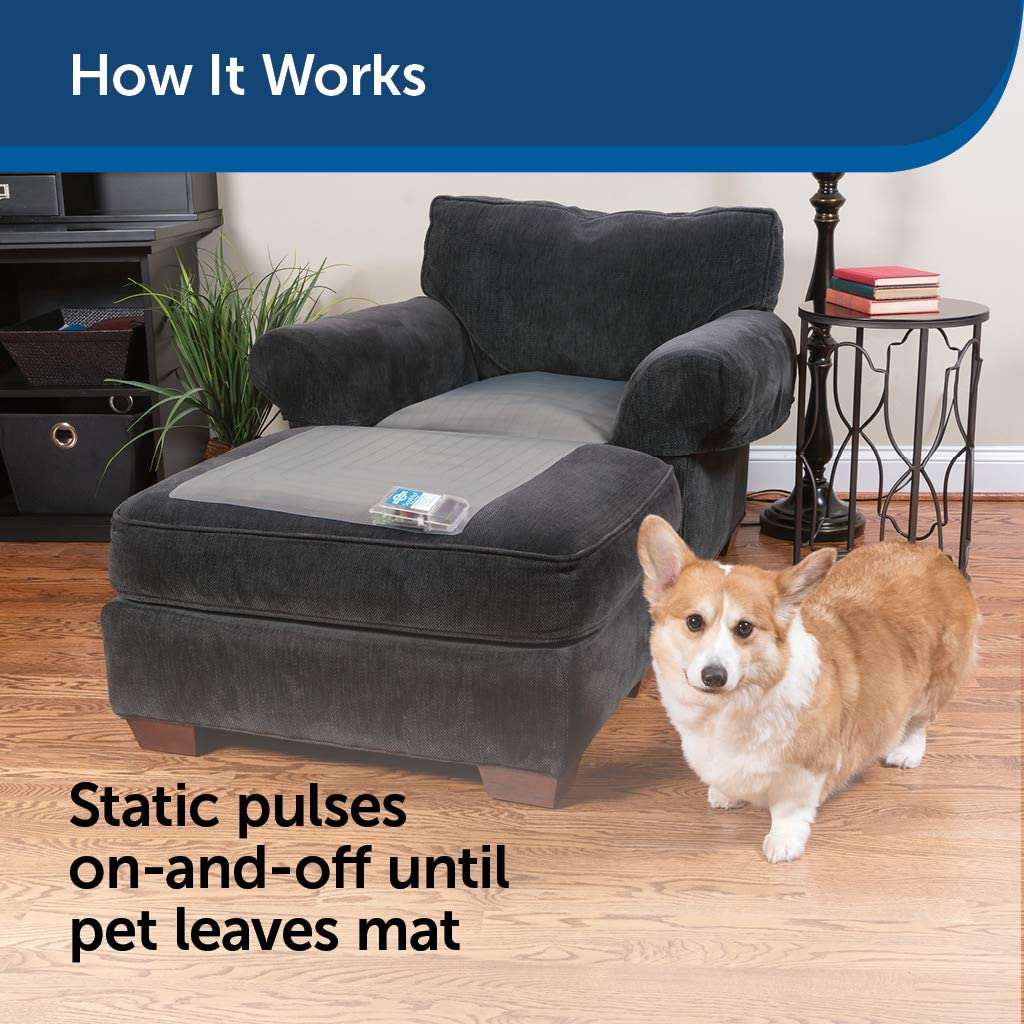 PetSafe ScatMat Indoor Pet Training Mat for Dogs and Cats , Large, 48 X 20 inch, Pet Proof Your Home, Electronic Training Mat