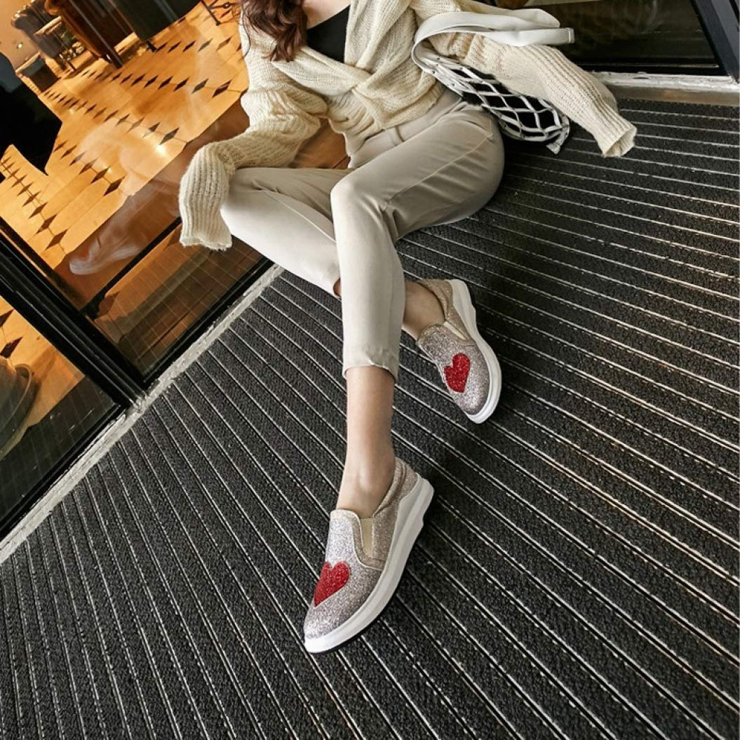 Amazon.com: Zapatillas de mujer con forma de corazón ...