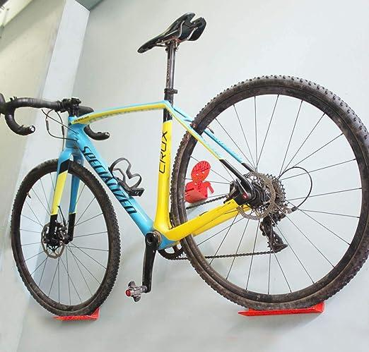 Aparca Bicicleta Soporte Para Bicicleta Pared Aparcamiento de bicicletas garaje Parking de 1 Bici de diseño (2 ...