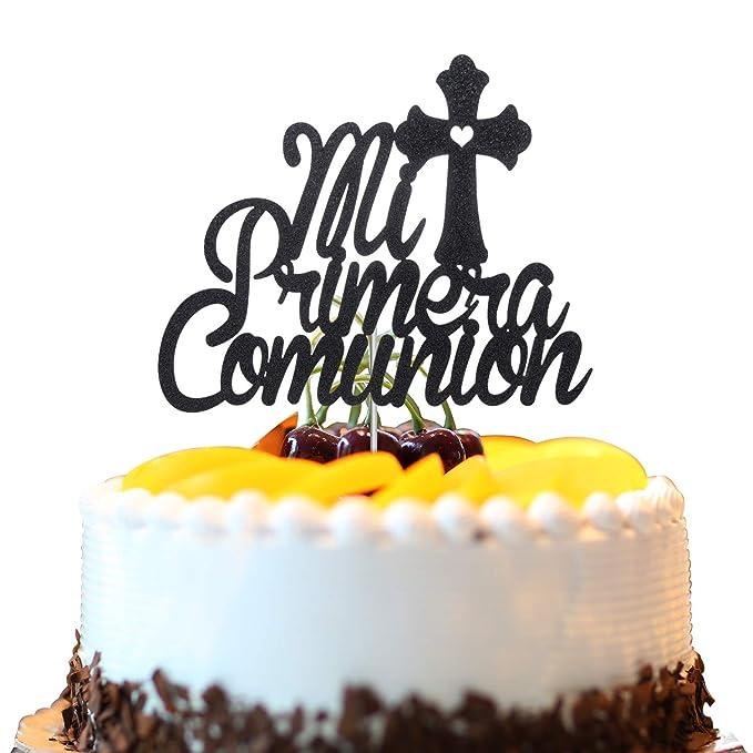 6 PC FIRST COMMUNION FAVORS GIRL RECUERDOS PRIMERA COMUNION RESIN CAKE TOPPER H
