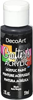 product image for DecoArt Crafter's Acrylic Paint, 2-Ounce, Black