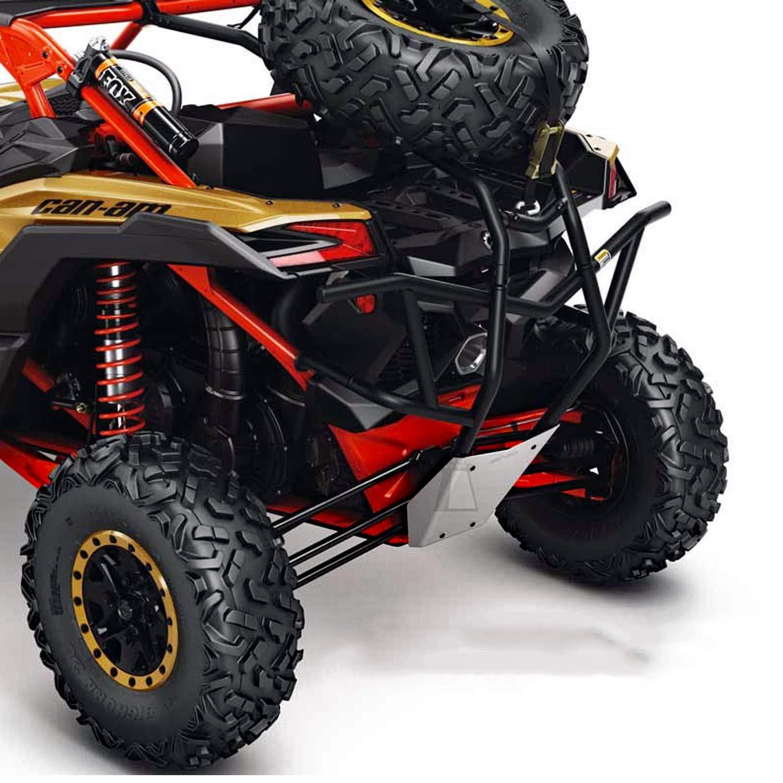 715002890 Can-Am New OEM Maverick X3 Black Rear Cage Extension Kit
