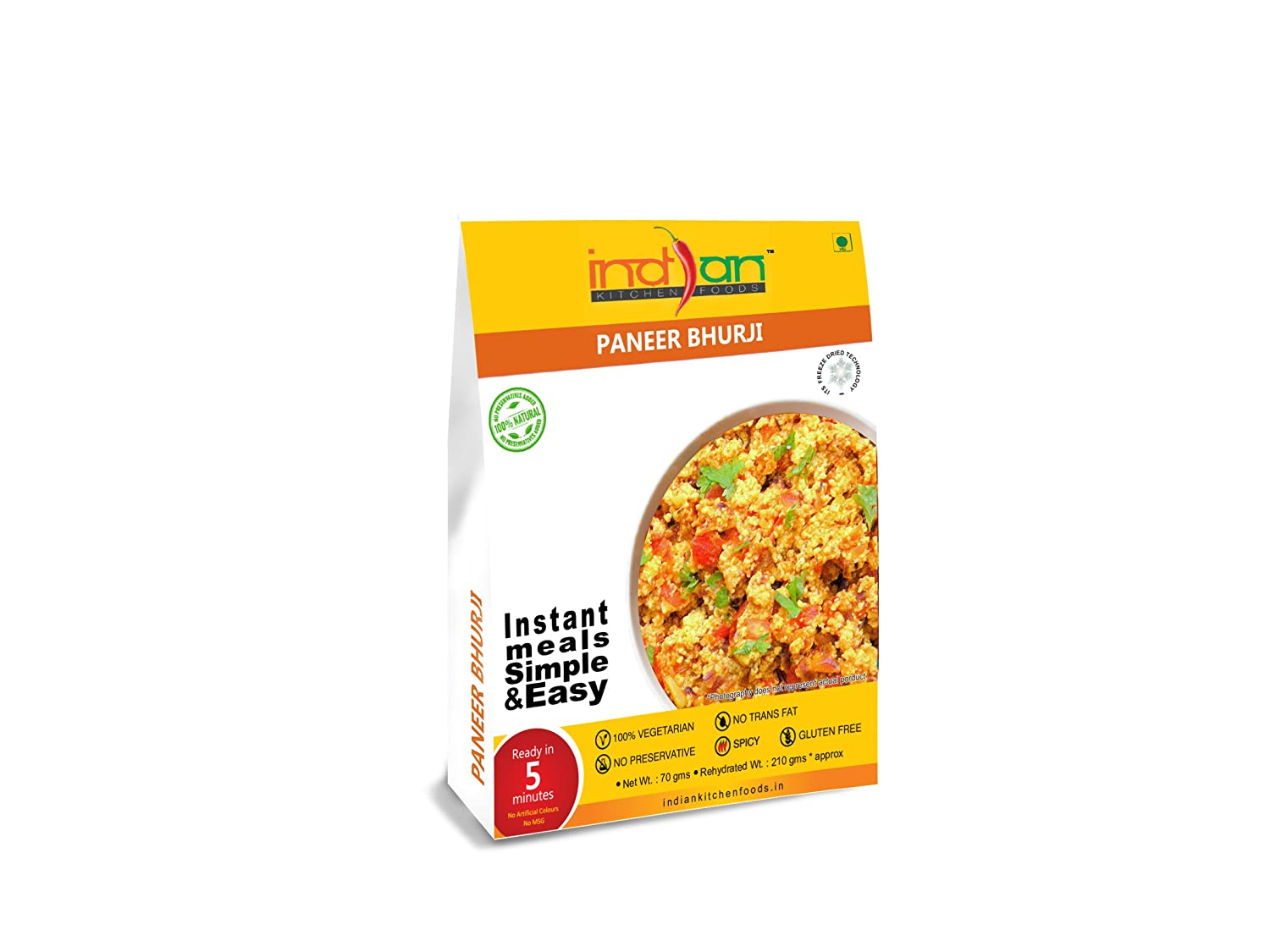 Astonishing Indian Kitchen Foods Mashed Cottage Cheese And Vegetable Paneer Bhurji Freeze Dried Gluten Free Gourmet Indian Entree Ready To Eat Instant Download Free Architecture Designs Embacsunscenecom