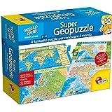 Lisciani Giochi 53742 - Piccolo Genio Supergeopuzzle, Multicolore
