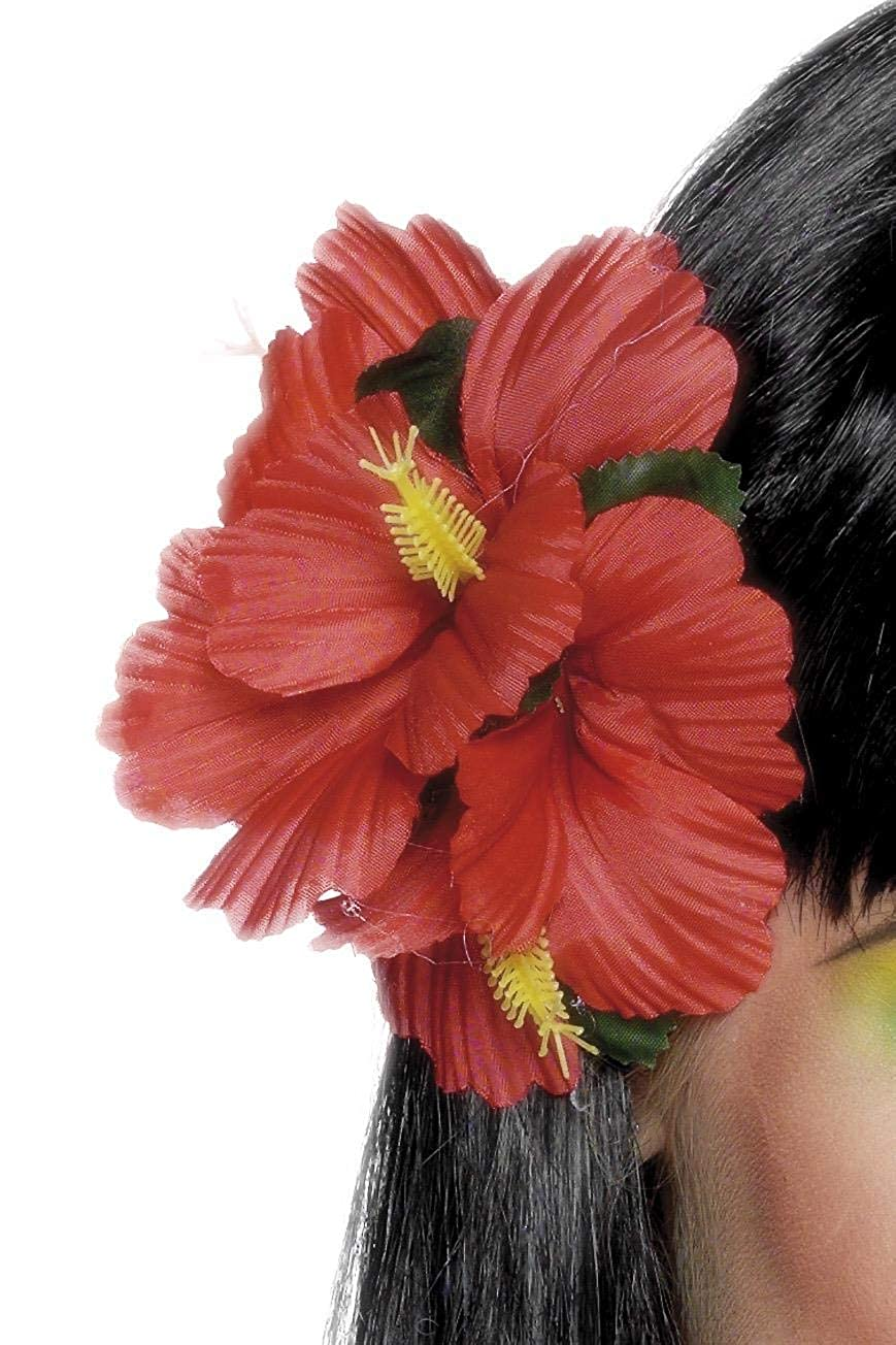 Smiffys hawaiian flower hair clip red smiffys amazon toys smiffys hawaiian flower hair clip red smiffys amazon toys games izmirmasajfo