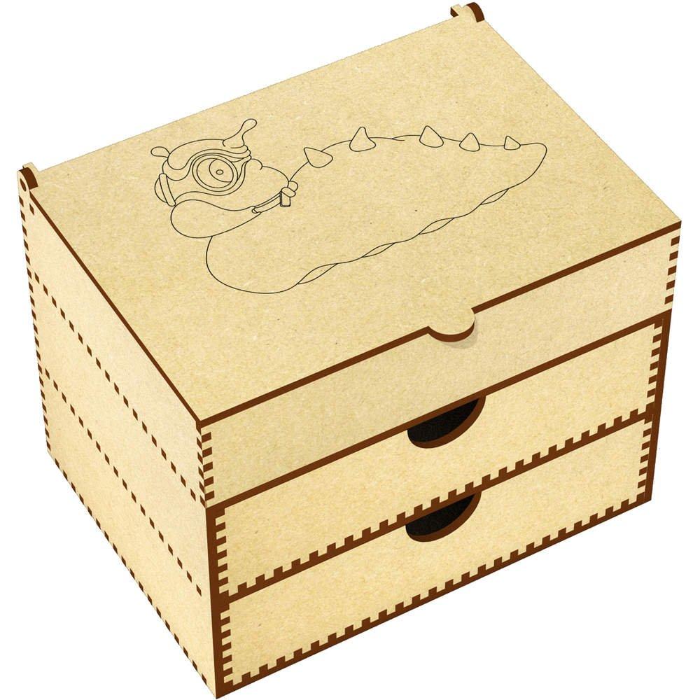'Alien Slug' Vanity Case / Makeup Box (VC00004378)