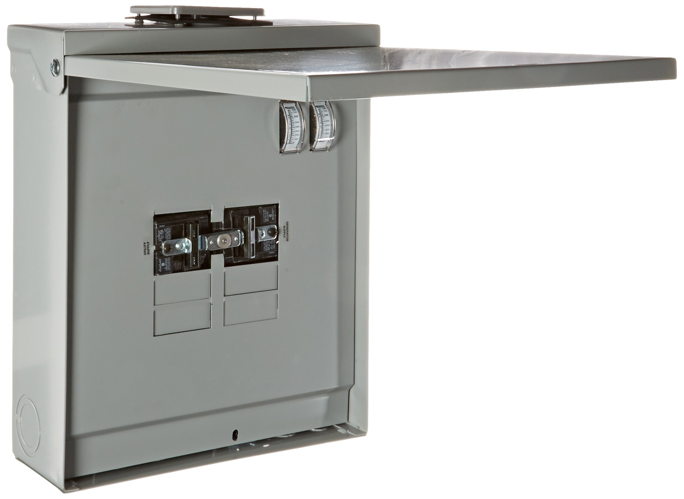 Reliance Controls Corporation TRB1205CR Transfer Panel with Meters