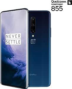 OnePlus 7 PRO 256GB ROM + 8GB RAM Dual-SIM (GSM, CDMA) Factory Unlocked 4G/LTE Smartphone - International Version (Nebula Blue)