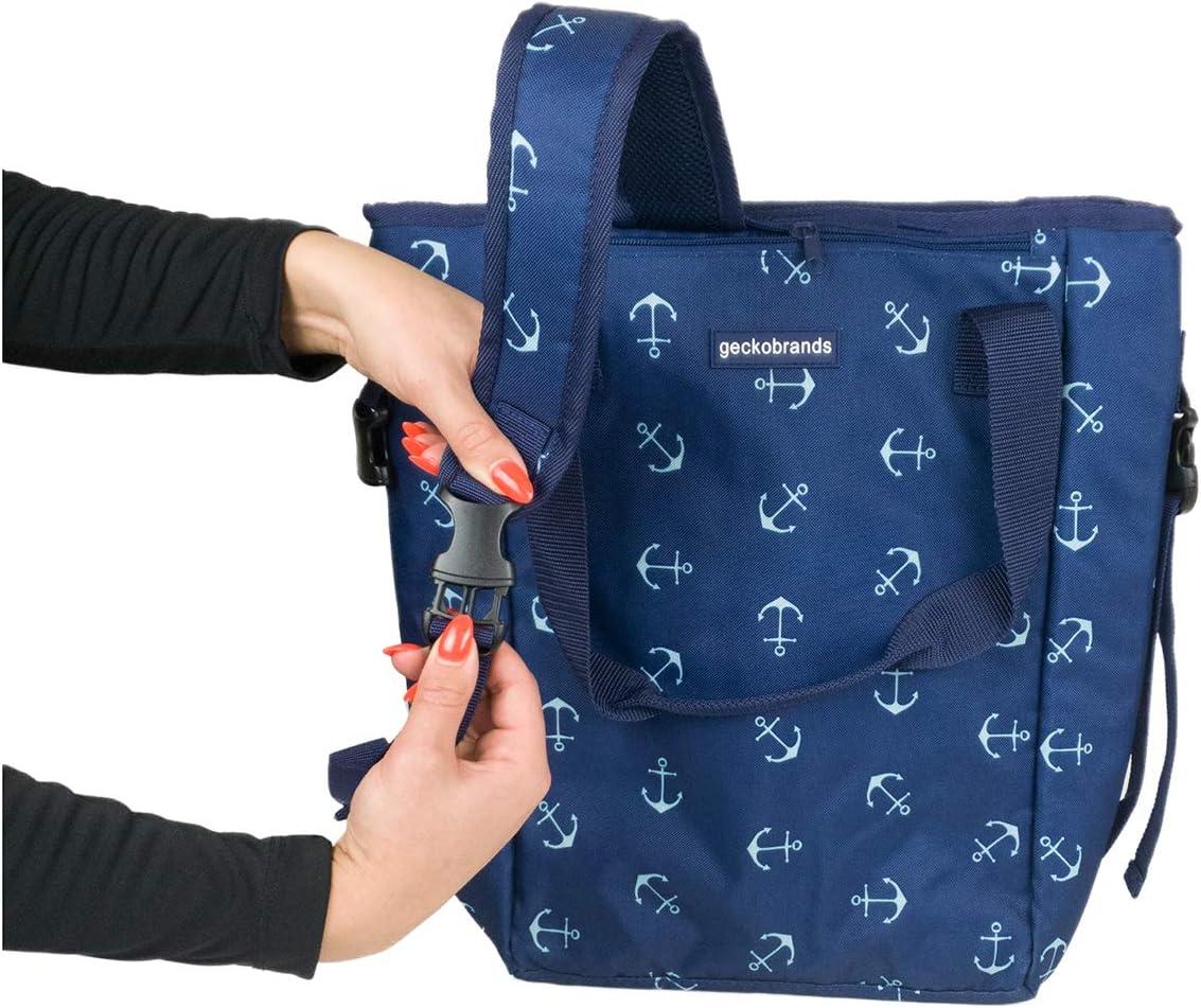 geckobrands Convertible Tote /& Backpack