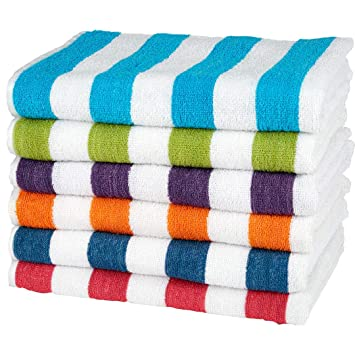 Amazon Com Ddi Wholesale Cabana Stripe Beach Towels 32 X 65