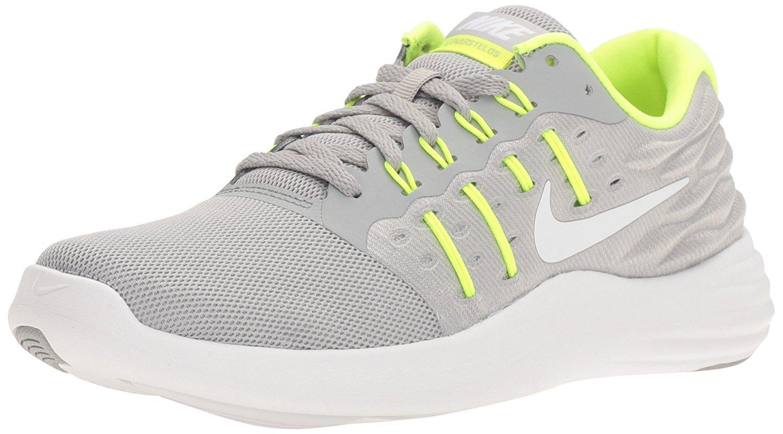 NIKE Women's Lunarstelos Running Shoe B01H5YLK7U 6.5 B(M) US|Wolf Grey/White-volt