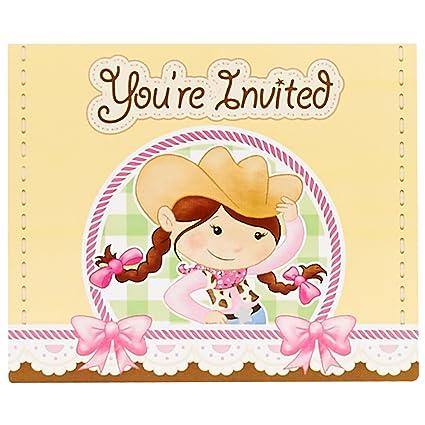 Amazon Com Birthdayexpress Pink Cowgirl Party Supplies