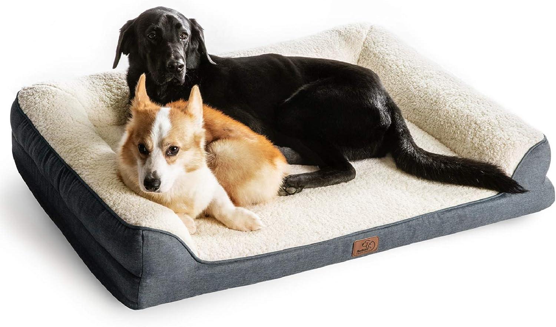 The orthopedic comfortable dog bedding Memory foam