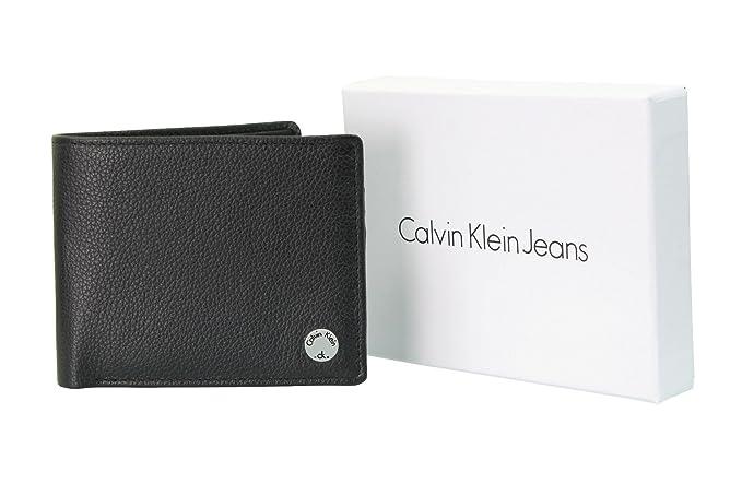 Calvin Klein - Cartera para hombre Hombre negro negro Talla única: Amazon.es: Ropa y accesorios