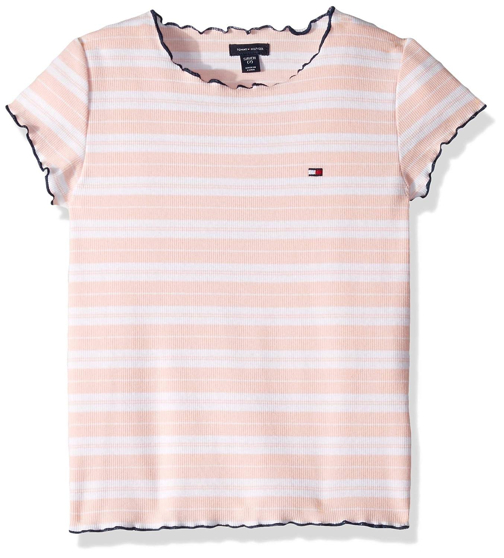 3d53fa7c6 Amazon.com: Tommy Hilfiger Big Girls' Short Sleeve Fashion Top: Clothing