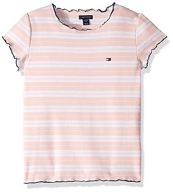 9468ead48c8 Amazon.com  Tommy Hilfiger Big Girls  Short Sleeve Fashion Top  Clothing