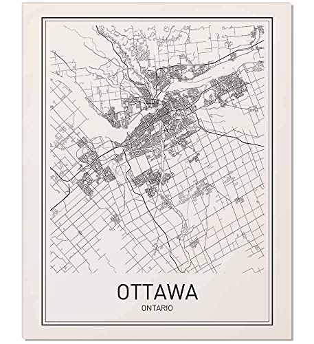 Handmade Products Artwork Map Of Edmonton City Poster Minimalist Posters 8x10 Map Poster City Map Posters City Map Wall Art Edmonton Poster Minimal Print Map Wall Decor Edmonton Map City Prints Modern